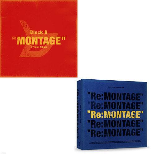 [주로파] 블락비 (Block.B) / 미니앨범 6집 Montage + Re:Montage (리패키지 2CD 묶음할인/미개봉)