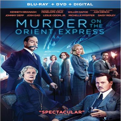 Murder On The Orient Express (오리엔트 특급 살인) (2017) (한글무자막)(Blu-ray + DVD + Digital)