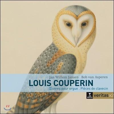 Bob van Asperen / Jan Willem Jansen 루이 쿠프랭: 하프시코드, 오르간 작품집 (Louis Couperin: Works for Harpsichord & Organ)