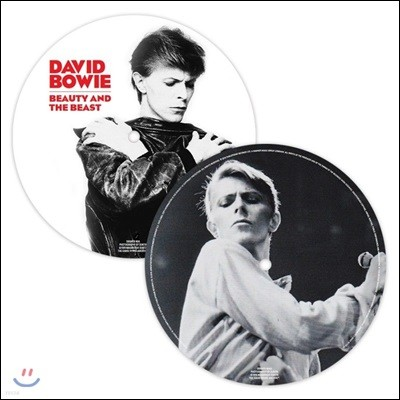 David Bowie (데이비드 보위) - Beauty and the Beast / Blackout [픽쳐디스크 LP]