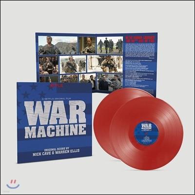 워 머신 영화음악 (War Machine OST by Nick Cave & Warren Ellis) [레드 컬러 2 LP]