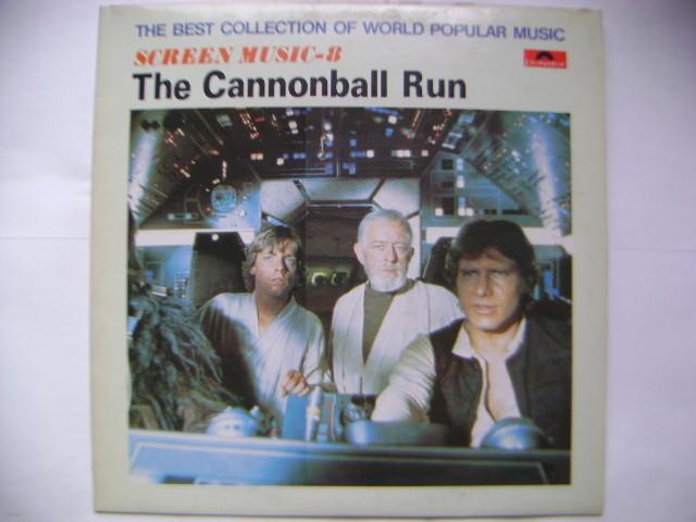 LP(엘피 레코드) The Cannonball Run - 시네마테크 그랜드 오케스트라