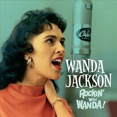 Wanda Jackson - Rockin With Wanda/There's A Party Going On (6 Bonus Tracks)(2 On 1CD)(CD)