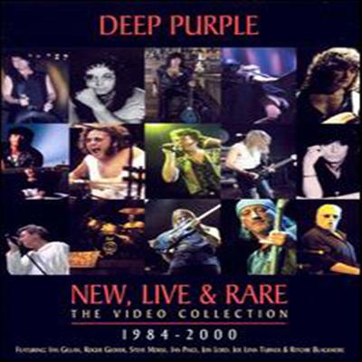 Deep Purple - New Live & Rare (지역코드1)(DVD)(2001)