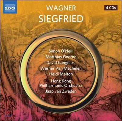 Jaap van Zweden 바그너: 지그프리드 - 얍 반 츠베덴 (Wagner: Siegfried)