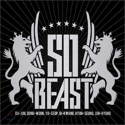 비스트 (Beast) - So Beast [Limited CD+DVD Japan 'A' Version]