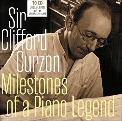Clifford Curzon 클리포드 커즌 - 15 오리지널 앨범 모음 (Milestones Of A Piano Legend)