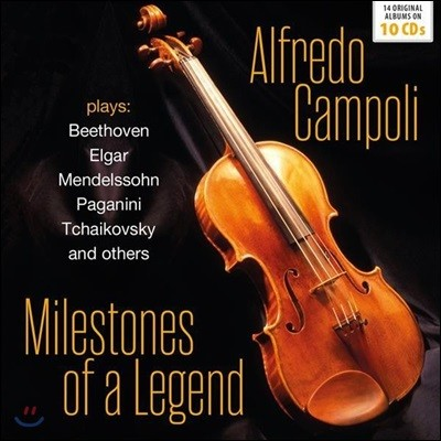 Alfredo Campoli 알프레도 캄폴리 - 14 오리지널 앨범 모음 (Milestones of a Legend - 14 Orginal Albums)