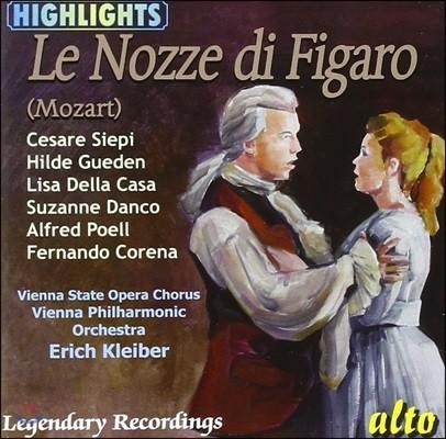 Erich Kleiber 모차르트: 피가로의 결혼 - 하이라이트 모음집 (Mozart: Le Nozze di Figaro K492 - Highlights)