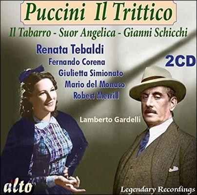 Lamberto Gardelli 푸치니: 일 트리티코 - 외투, 수녀 안젤리카, 잔니 스키키 (Puccini: Il Trittico - Il Tabarro, Suor Angelica & Gianni Schicchi)