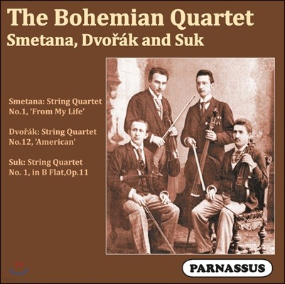 Bohemian Quartet 스메타나 / 드보르작 / 수크: 현악 사중주 작품집 (Smetana / Dvorak / Suk: String Quartet)
