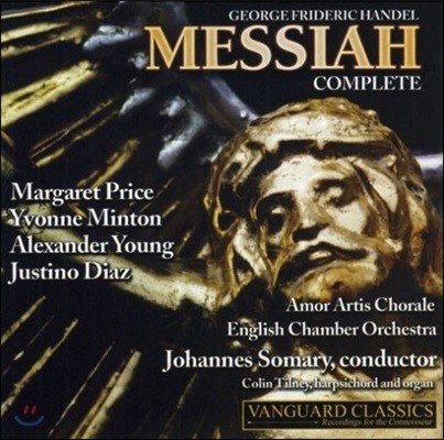 Johannes Somary 헨델: 메시아 전곡 (Handel: Messiah, Complete [Wilkins Shaw Edition])