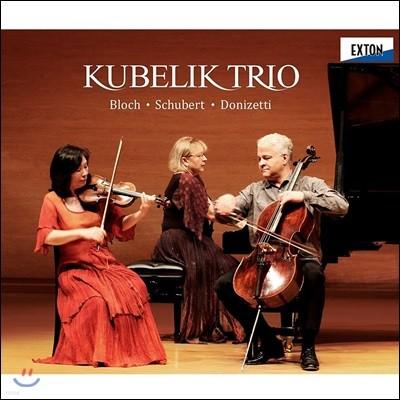 Kubelik Trio 피아노 삼중주 작품집 - 블로흐 / 슈베르트 / 도니제티 (Bloch / Schubert / Donizetti: Piano Trios)