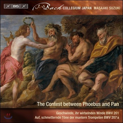 Masaaki Suzuki 바흐: 세속 칸타타 9집 (J.S. Bach: Cantatas - The Contest Between Phoebus and Pan)