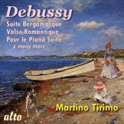 드뷔시: 베르가마스크 모음곡, 아라베스크 (Debussy: Suite Bergamasque, Deux Arabesques) - Martino Tirimo