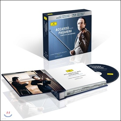 Salvatore Accardo 아카르도의 파가니니 녹음 전집 (Accardo Plays Paganini - Complete Recordings)