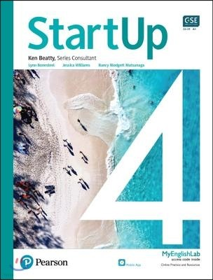 StartUp 4 : Student Book with app and MyEnglishLab