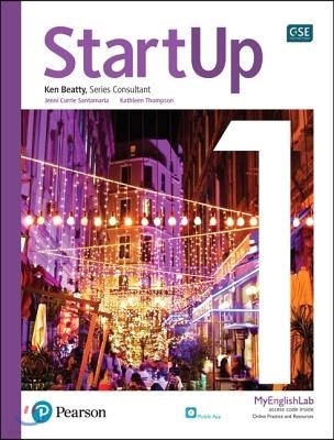 StartUp 1 : Student Book with app and MyEnglishLab