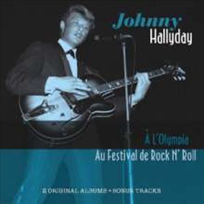 Johnny Hallyday - A L'Olympia: Au Festival De Rock'n'Roll (CD)