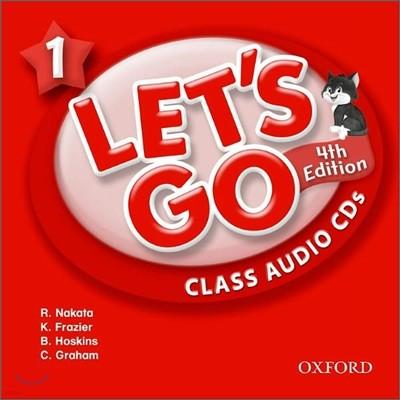 [4판]Let's Go 1 : Class Audio CDs