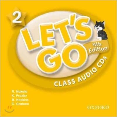 [4판]Let's Go 2 : Class Audio CDs