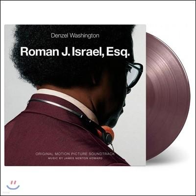 로만 J. 이스라엘 Esq 영화음악 (Roman J. Israel, Esq. OST by James Newton Howard 제임스 뉴튼 하워드) [퍼플,골드 컬러 LP]