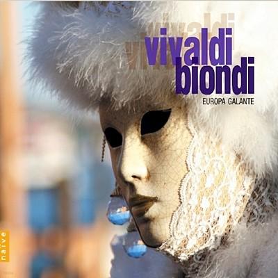 Fabio Biondi 비발디 : 파비오 비욘디 베스트 작품집 (Vivaldi / Biondi: The Four Seasons & String Concertos)