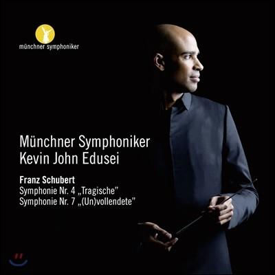 Kevin John Edusei 슈베르트: 교향곡 4번 '비극적', 교향곡 7번 '(미)완성' (Schubert: Tragic & (Un)finished Symphonies)