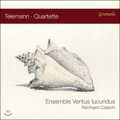 Ensemble Ventus lucundus 텔레만: 사중주 작품집 (Telemann: Quartets)