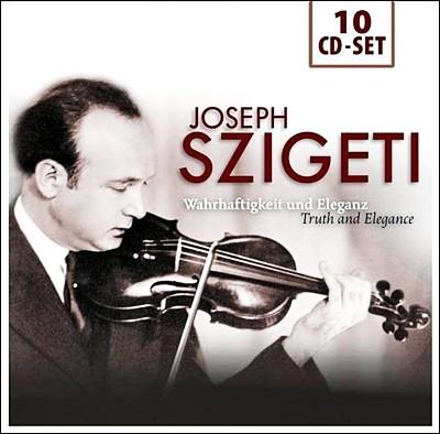 Joseph Szigeti 요제프 시게티 바이올린 연주집 (Truth & Elegance)