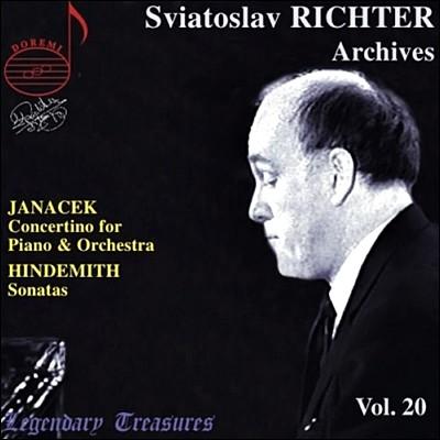 스비아토슬라프 리히테르 아카이브 20집 - 야나체크 / 힌데미트 (Sviatoslav Richter Archives Vol.20 - Janacek / Hindemith)