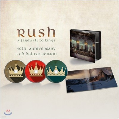 Rush (러시) - A Farewell To Kings [40th Anniversary Deluxe Edition]