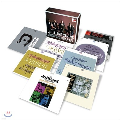 Juilliard String Quartet 줄리어드 현악 사중주단 Epic 레코딩 전집 (The Complete EPIC Recordings 1956-1966)