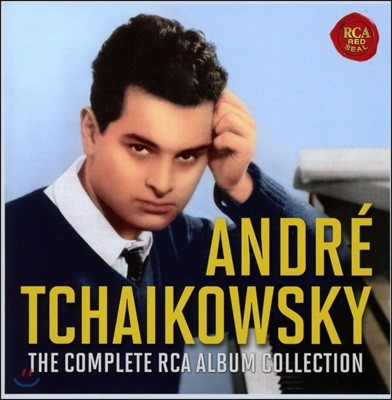 Andre Tchaikowsky 앙드레 차이코프스키 RCA 앨범 컬렉션 전집 (The Complete RCA Album Collection)