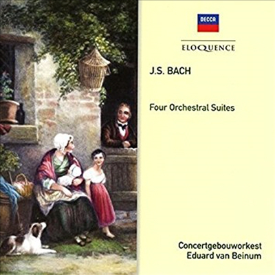바흐: 관현악 모음곡 1-4번 (Bach: Four Orchestral Suites No.1-4) - Eduard van Beinum