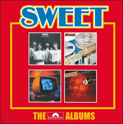 Sweet (스위트) - The Polydor Albums [4CD]