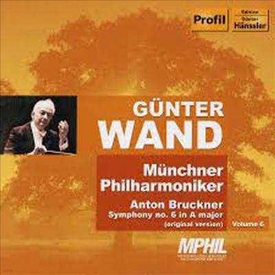 브루크너 : 교향곡 6번 '오리지널 버전' (Bruckner : Symphony No.6 ) - Gunter Wand