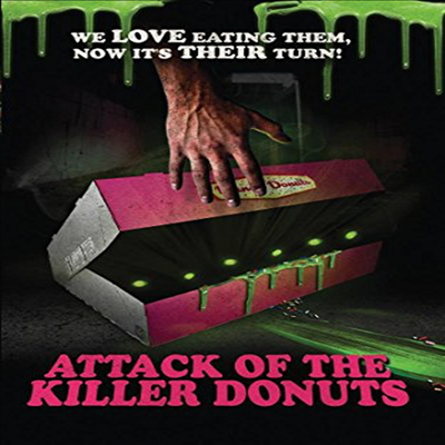 Attack Of The Killer Donuts (어택 오브 더 킬러 도넛) (지역코드1)(한글무자막)(DVD-R)