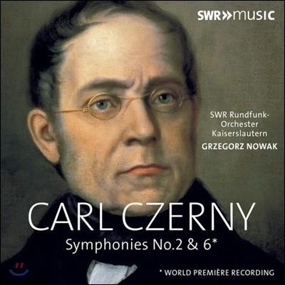Grzegorz Nowak 칼 체르니: 교향곡 2번, 6번 (Carl Czerny: Symphonies Nos. 2 & 6)