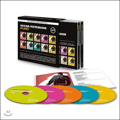 Oscar Peterson Plays: Ten Original Albums 오스카 피터슨 1952-54년 녹음집