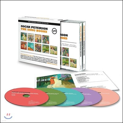 Oscar Peterson (오스카 피터슨) - The Song Books: Nine Original Albums