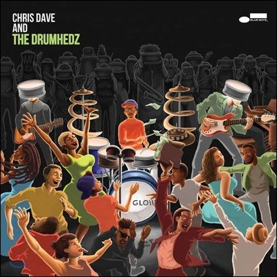 Chris Dave And The Drumhedz (크리스 데이브 앤 더 드럼헤즈) - Chris Dave And The Drumhedz [2 LP]