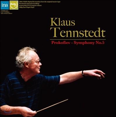 Klaus Tennstedt 프로코피에프: 교향곡 5번 - 클라우스 텐슈테트 (Prokofiev: Symphony No.5) [LP]
