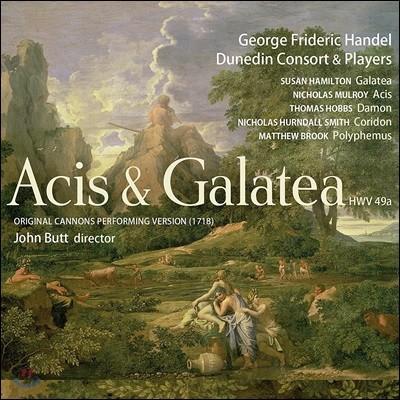 John Butt 헨델: 아시스와 갈라테아 [오리지널 캐논 연주 버전 1718] (Handel: Acis & Galatea HWV 49a)