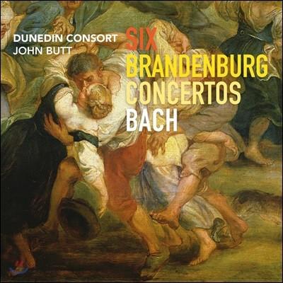 John Butt 바흐: 브란덴부르크 협주곡 - 더니든 콘서트, 존 버트
