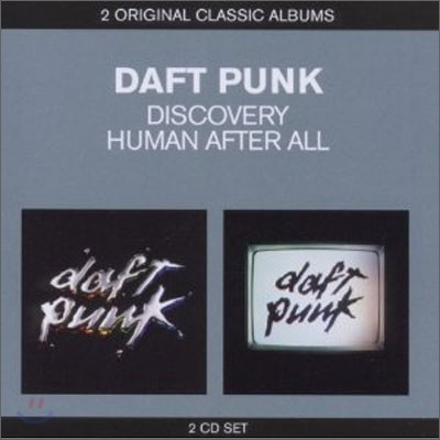 Daft Punk - 2 Original Classic Albums (Discovery + Human After All)