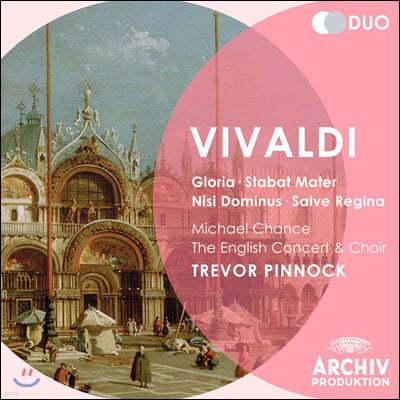 Trevor Pinnock 비발디: 종교합창곡집 (Vivaldi: Gloria, Nisi Dominus, Stabat Mater, Salve Regina)
