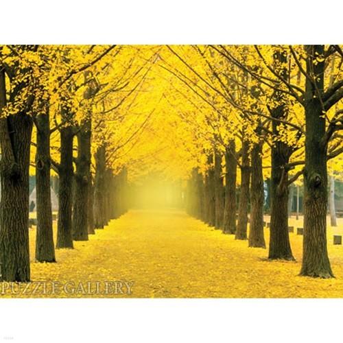 1000조각 직소퍼즐▶ 노랑 은행나무가 가득한 가로수 길 (PK1000-3160)