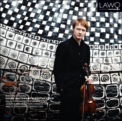 Eivind Holtsmark Ringstad 월튼: 비올라 협주곡 / 신딩: 옛 스타일의 모음곡 (W. Walton: Viola Concerto / Sinding: Suite im Alten Stil)