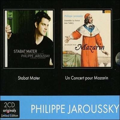 Philippe Jaroussky 스타바트 마테르 / 마자랭 (Stabat Mater / Un Concert pour Mazarin)